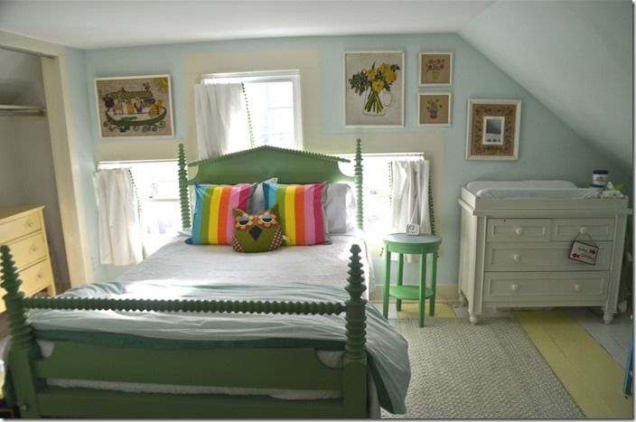 3rd floor bedroom painted furniture pinterest