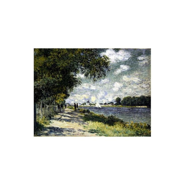 SEINE AT ARGENTEUIL, 1875 - You can choose this picture to embroider