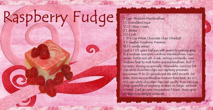 Raspberry Swirl Fudge. | gifts | Pinterest