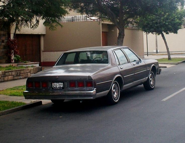Chevrolet Caprice 80-81 en San Isidro | Autos de Lima | Pinterest