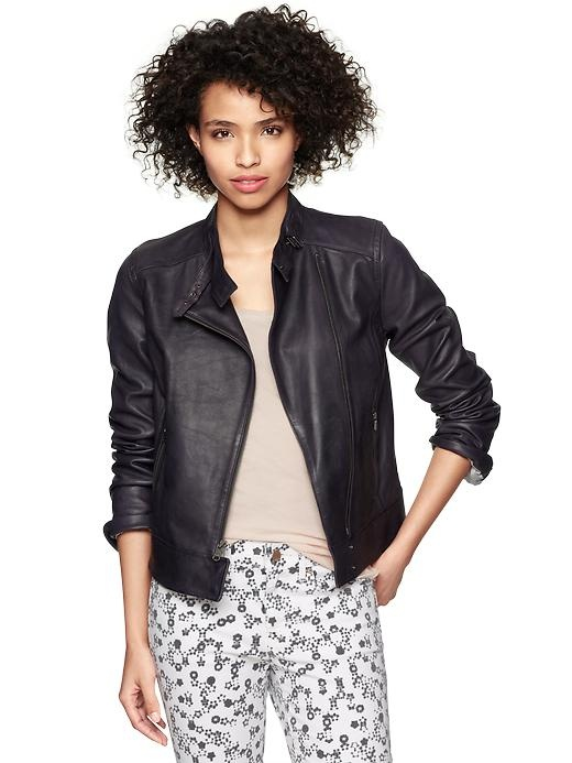 gap leather jacket. 30% off everything at gap- today only