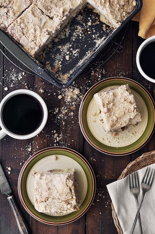 Cinnamon Sugar Coffee Cake Recipe | Wake up & Bake up | Pinterest