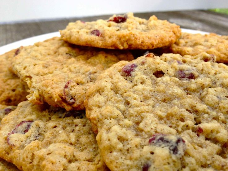 Cranberry Oatmeal Cookies | Food | Pinterest