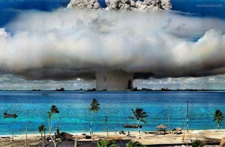 Bikini atoll 1946 | Sky | Pinterest