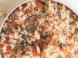 APRICOT-ALMOND RICE | Foods-Grains & Seeds | Pinterest