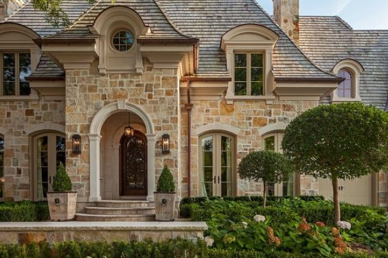 French Country Home Exterior Ideas Pinterest