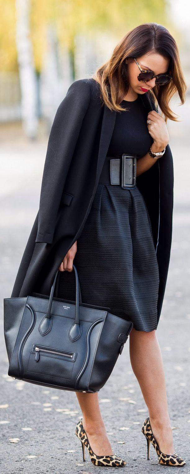 The Power Of #Black #WorkWardobe #Style #Fashion #Chic