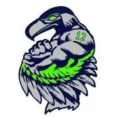 Seattle SEAHAWK 12th Man Fan! | Seattle Seahawks | Pinterest