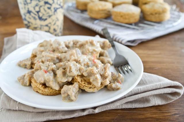 Sweet Potato Biscuits and Vegetarian Gravy | Recipe