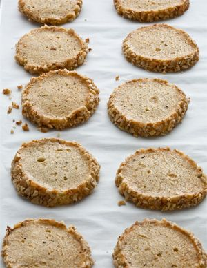 Stilton & Walnut Crackers | Crackers | Pinterest