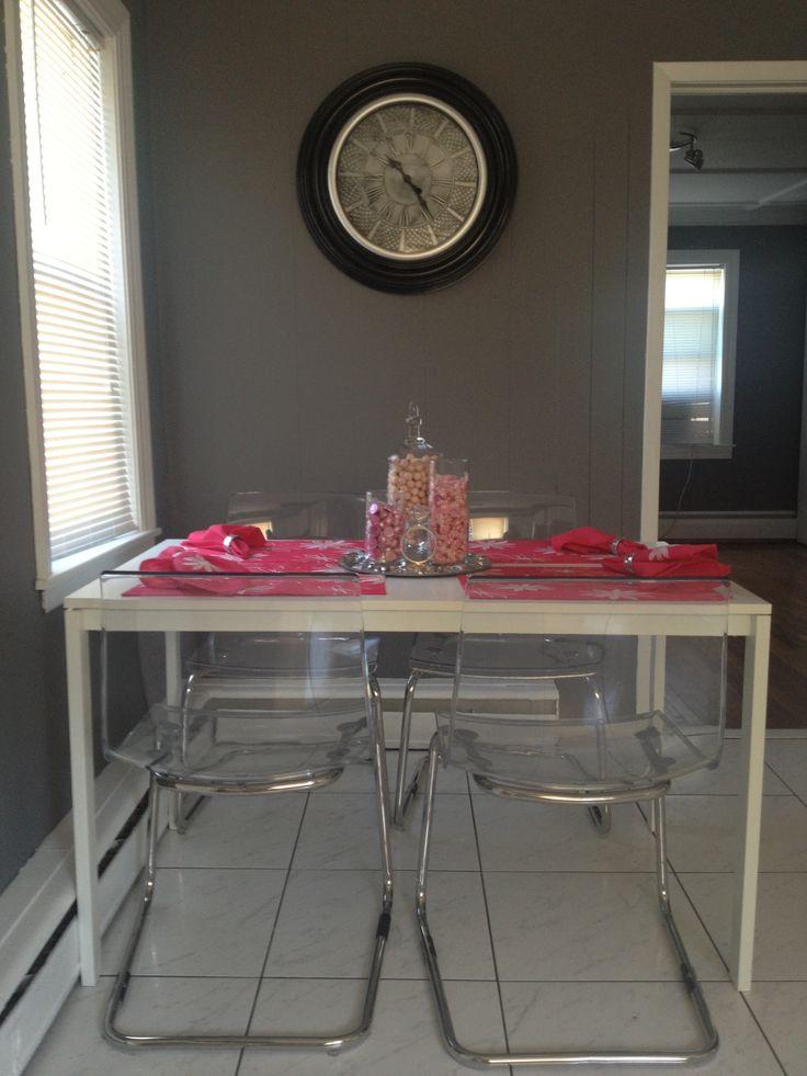 Kitchen Table Home Decor Pinterest