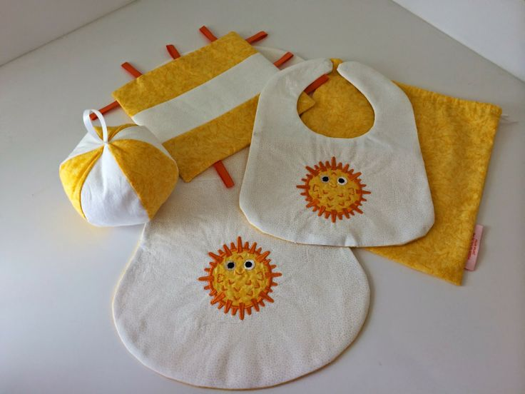 Unique Baby Gift Ideas Pinterest : Handmade unique baby shower gift set sewing ideas