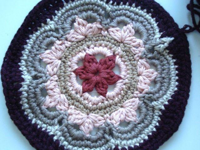 Mosaic Crochet Afghan Pattern : Moorish mosaic afghan Knitting & Crochet - Non-clothing ...
