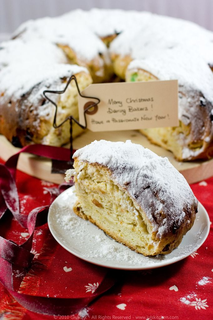 Recipe For Stollen Cake With Marzipan