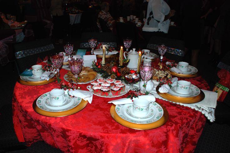 Table Ideas For A Christmas Teacoffee TeaCoffee Pinte