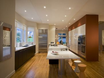 Kitchen island table starting point for island extension look