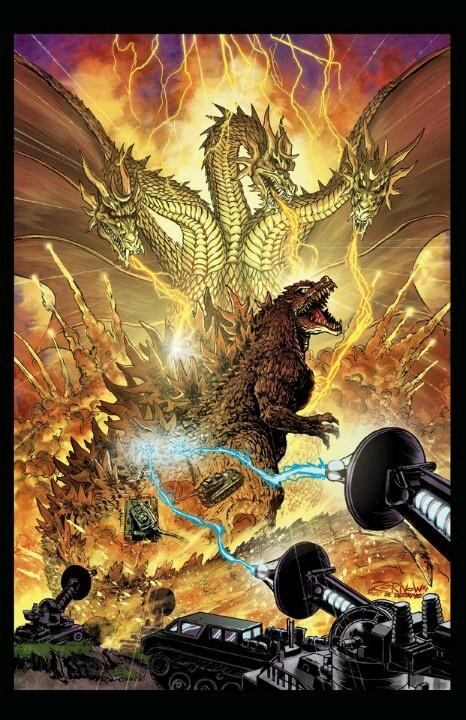 Godzilla/King Ghidorah | Godzilla | Pinterest