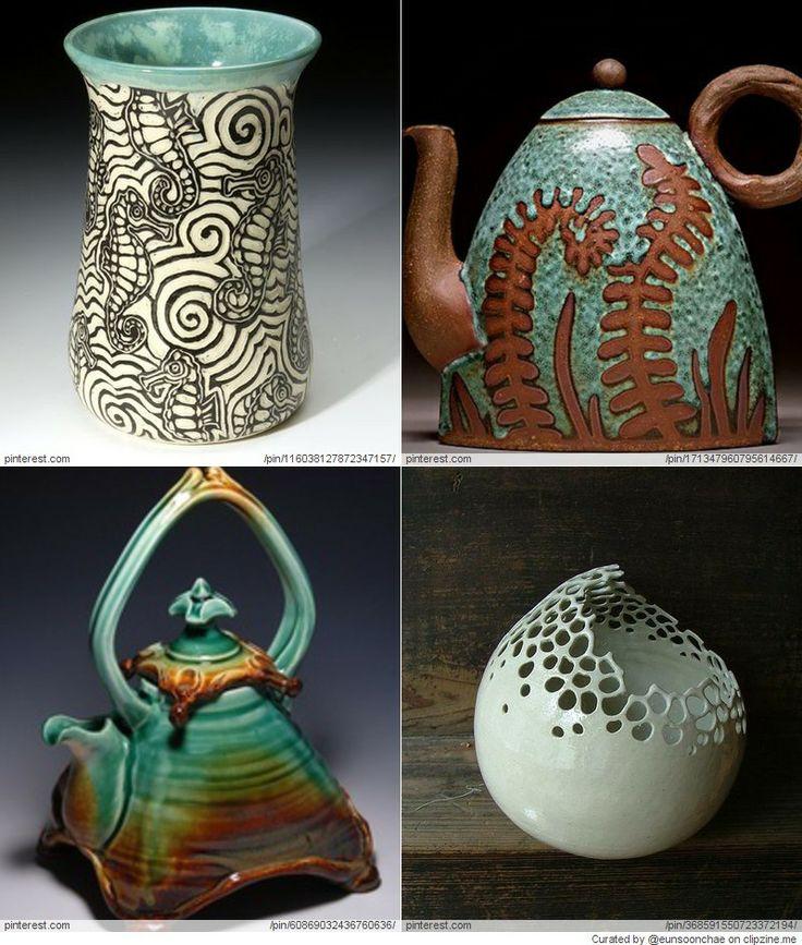 Pottery ideas clay pinterest for Clay pottery ideas