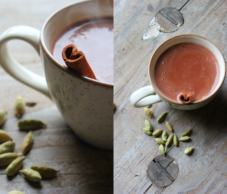 Chai Spiced Hot Chocolate (vegan) | Coffee & Tea | Pinterest