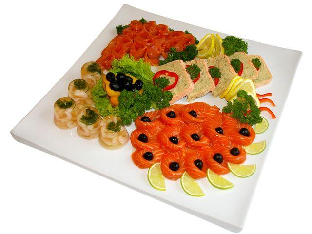 Салаты из лососяы