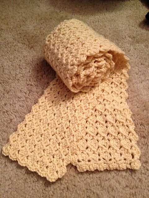 Ravelry: Mindless One Skein Scarf crochet pattern by ...