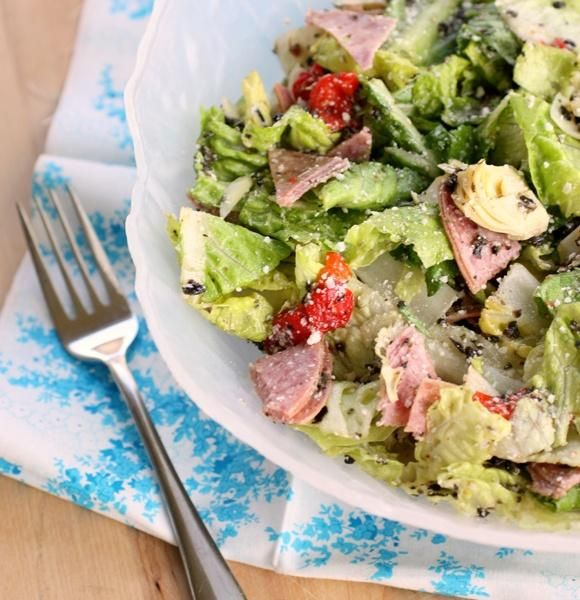 Antipasto Salad.....I add a few other things to my Antipasto Salad ...
