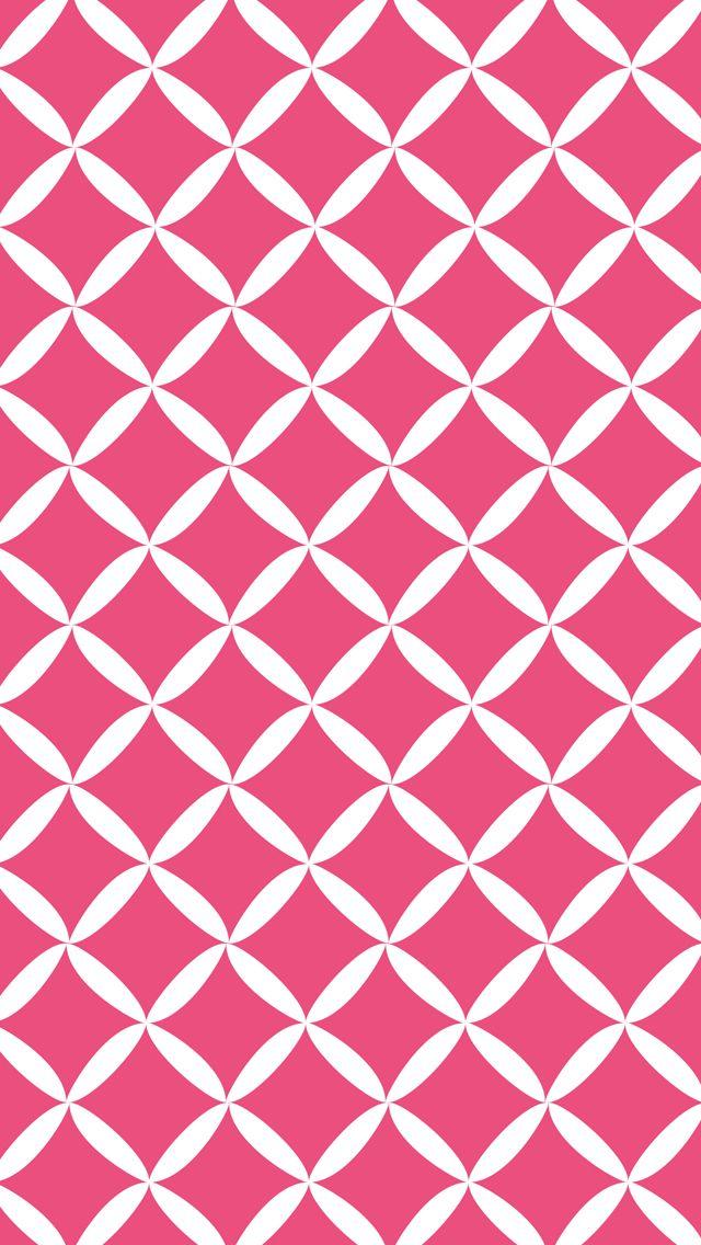 iPhone 5 wallpaper diamond #pattern #pink