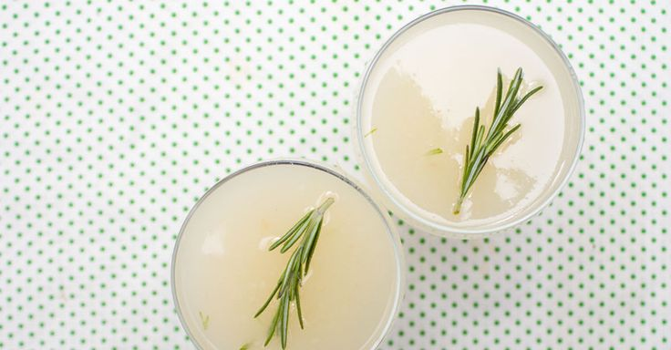 Gin, pear and rosemary cocktail. | Cocktail Party | Pinterest