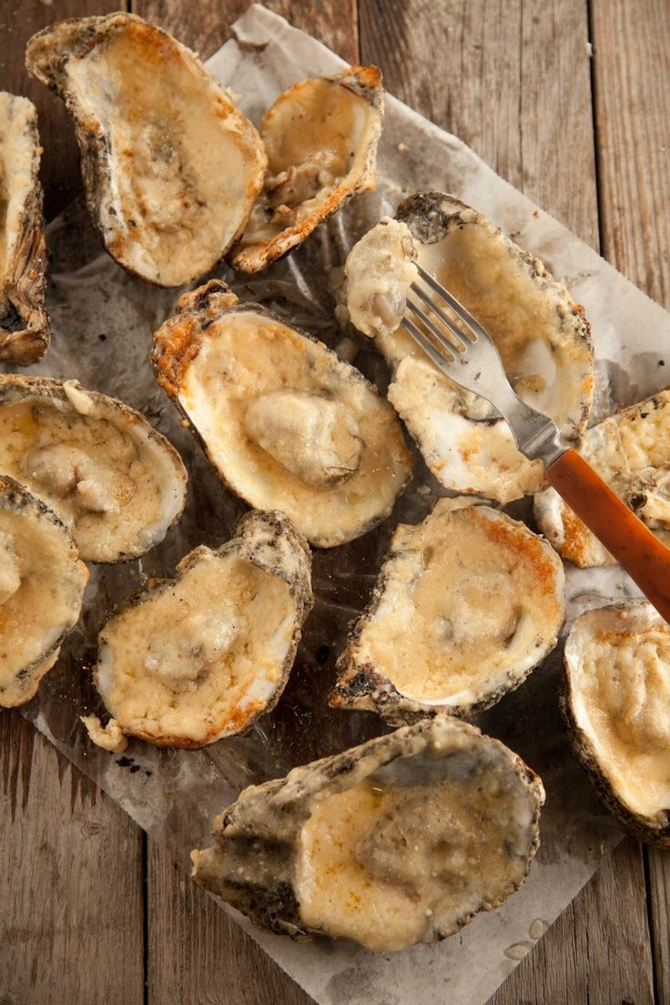Char-Grilled Oysters | APPETIZER | Pinterest