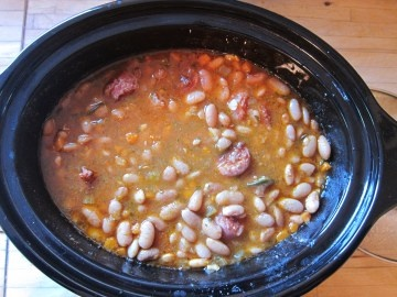 Bean and Sausage Soup! | Food | Pinterest