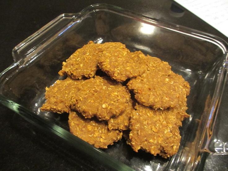 Pumpkin protein breakfast cookie | Gluten Sugar Dairy Free | Pinterest