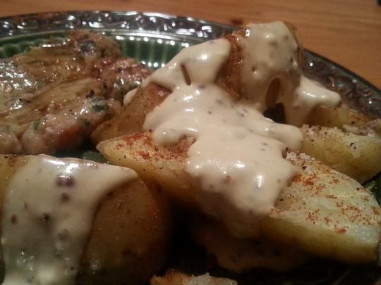 Grilled Potatoes W/ Smoked Paprika Mayo Dressing(Argentina). Photo by ...