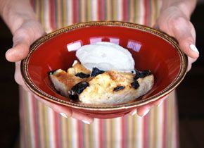 Croissant and Armagnac Bread Pudding   Nom Nom Nom   Pinterest