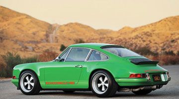 1971 Porsche 911S. Seminal model-too small for me so I prefer the 997