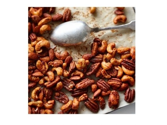 Sweet And Spicy Holiday Nuts Recipes — Dishmaps