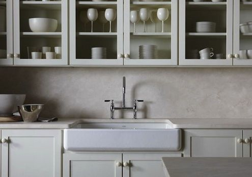 7 Apron Front Sink : stainless steel farmhouse sink - Google Search Kitchens Pinterest