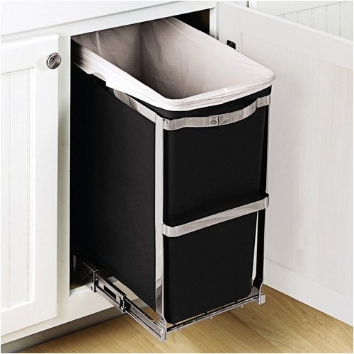 Kitchen Trash Can Under Cabinet For The Home Pinterest