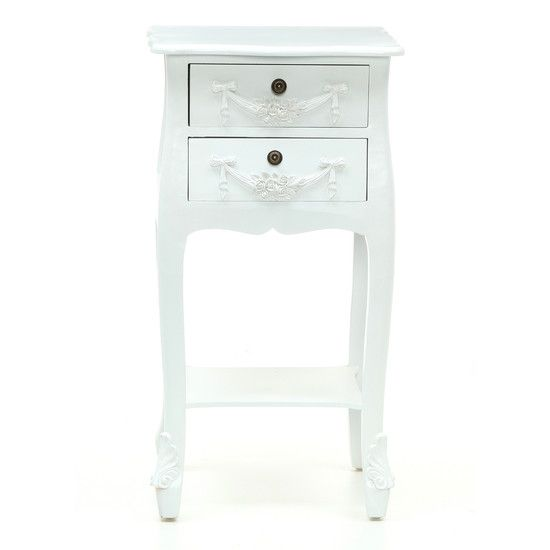 Toulouse White Bedroom Furniture Collection Downton Dunelm Decor
