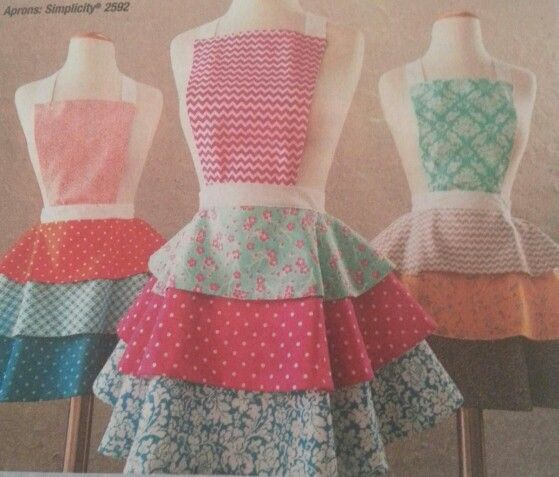 Aprons Aprons Sewing Projects Pinterest