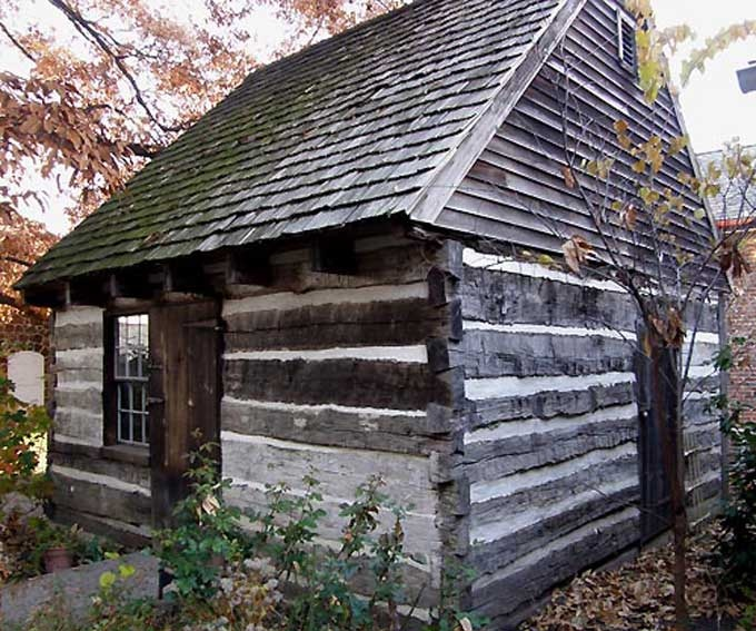 Log House From Colonial Sense House Styles I Admire
