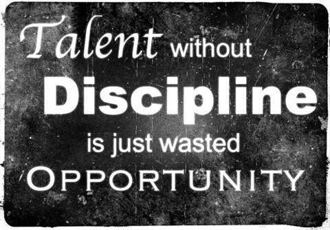 Discipline!