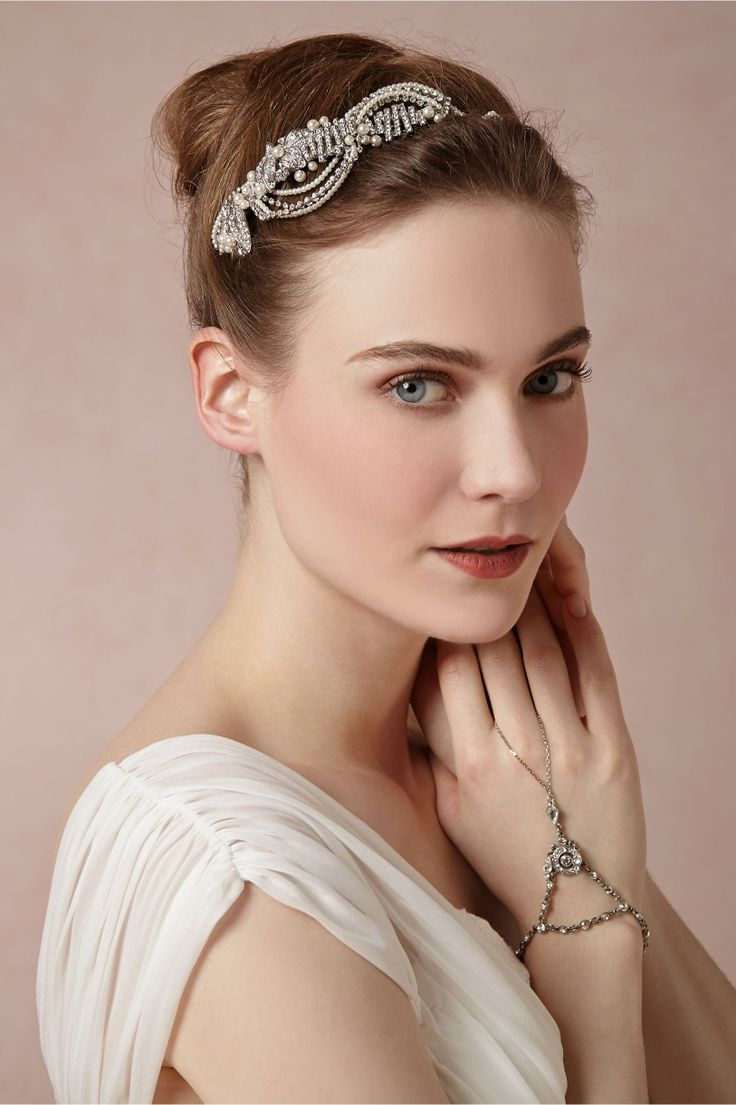 Swooped Deco Headband from BHLDN