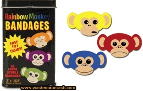 monkey bandaids