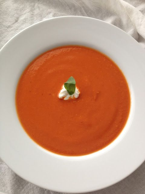 Spiced Chickpea and Tomato Soup | Soups | Pinterest