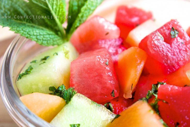 Ginger-Mint Melon Salad