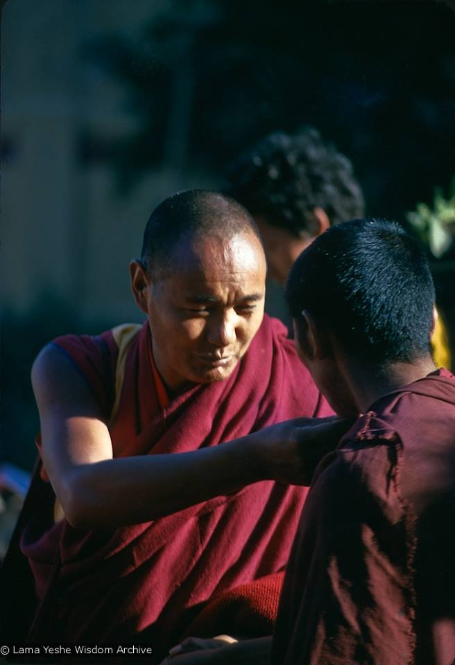 Be wise. Treat yourself, your mind, sympathetically, with loving kindness. If you are gentle with yourself, you will become gentle with others.   ***Lama Thubten Yeshe***