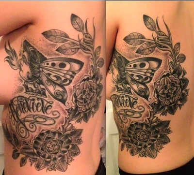 Tattoo done by Brian Faulk at The End is Near in Brooklyn, NY.