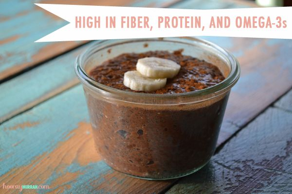 Healthy Chocolate Chia Seed Pudding | Motivation / Health | Pinterest