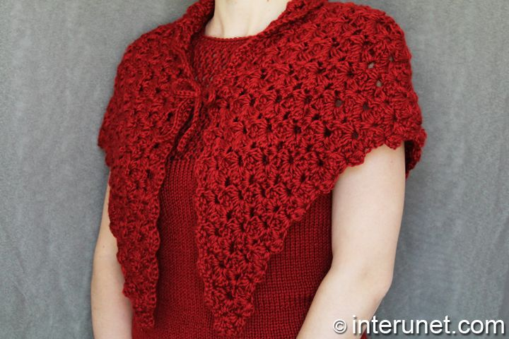 Eva s Shawl Crochet Pattern : shawl-crochet-pattern { CROCHET } Pinterest