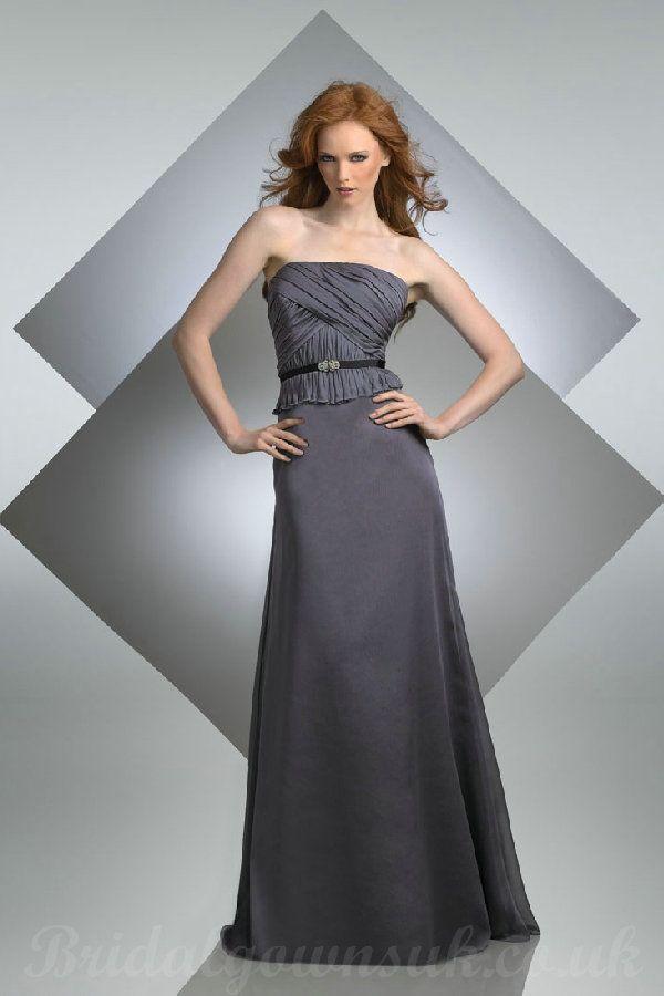 Pin by anne smith on gray grey pinterest for Dark grey wedding dresses